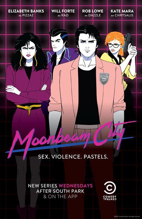 Moonbeam City : Poster
