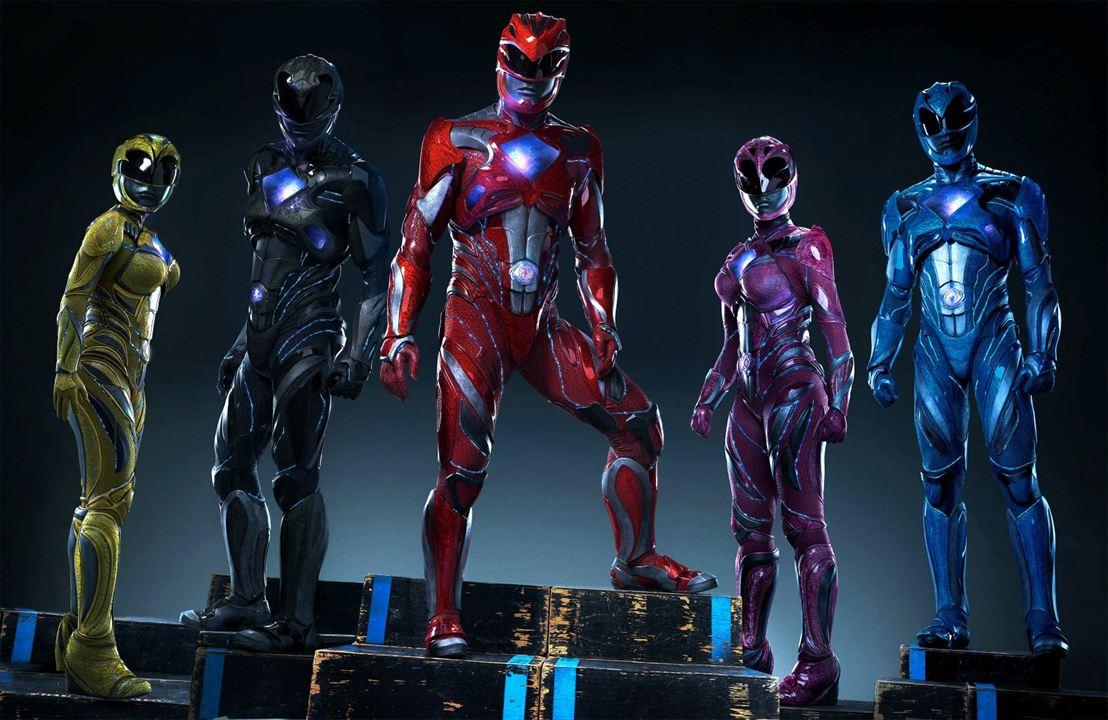 Power Rangers : Foto Becky G, Dacre Montgomery, Ludi Lin, Naomi Scott, RJ Cyler