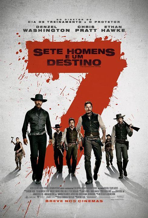 Sete Homens e Um Destino : Poster