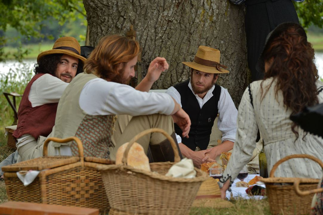 Cézanne e Eu: Guillaume Gallienne, Guillaume Canet