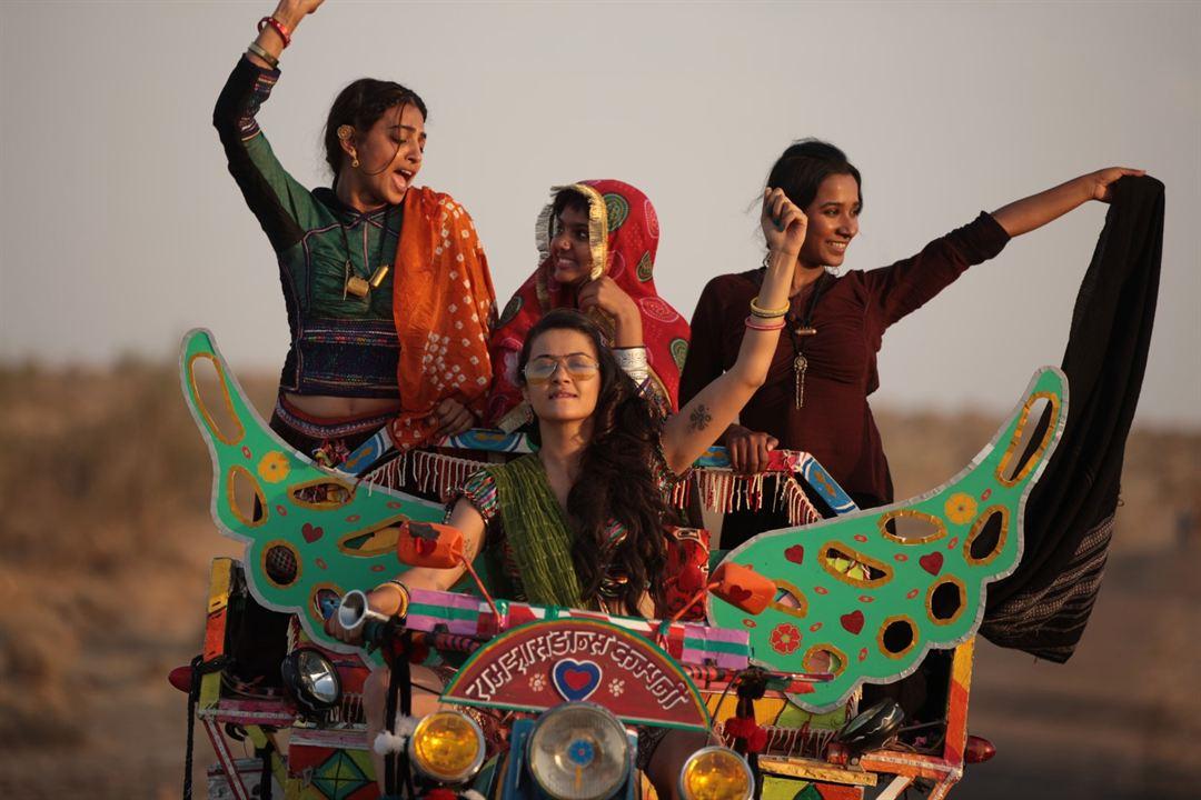 Parched: Tannishtha Chatterjee, Radhika Apte, Surveen Chawla