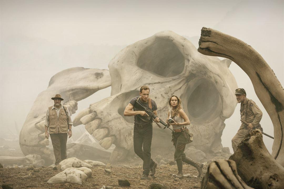 Kong: A Ilha da Caveira : Foto Brie Larson, John C. Reilly, John Goodman, Tom Hiddleston