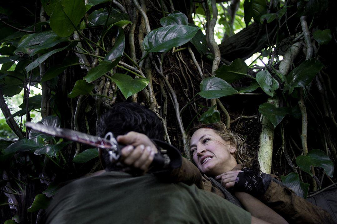 Perseguição na Floresta : Foto Zoë Bell