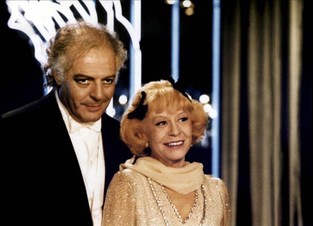 Ginger e Fred: Giulietta Masina, Marcello Mastroianni