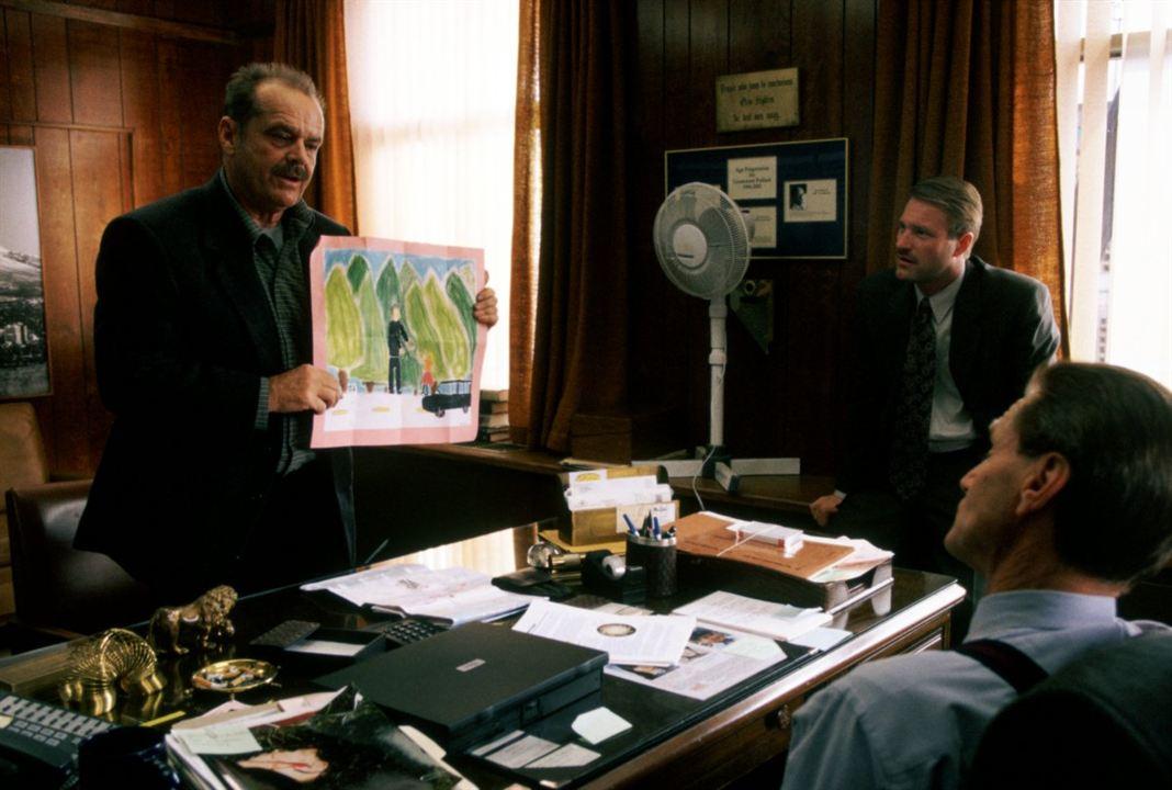 A Promessa: Aaron Eckhart, Jack Nicholson