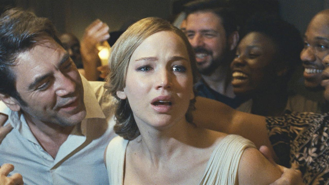 mãe!: Javier Bardem, Jennifer Lawrence