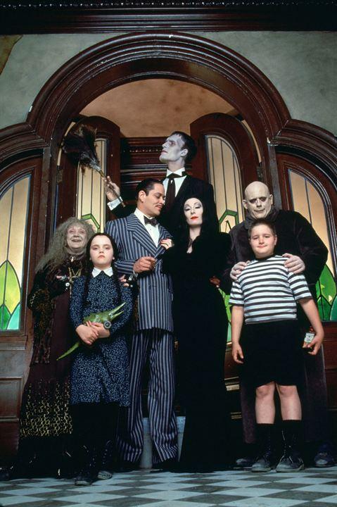 A Família Addams : Foto Anjelica Huston, Carel Struycken, Christina Ricci, Christopher Lloyd, Judith Malina