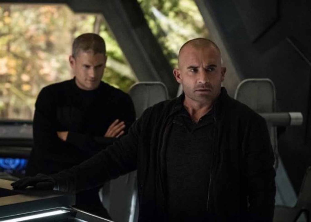 Foto Dominic Purcell, Wentworth Miller