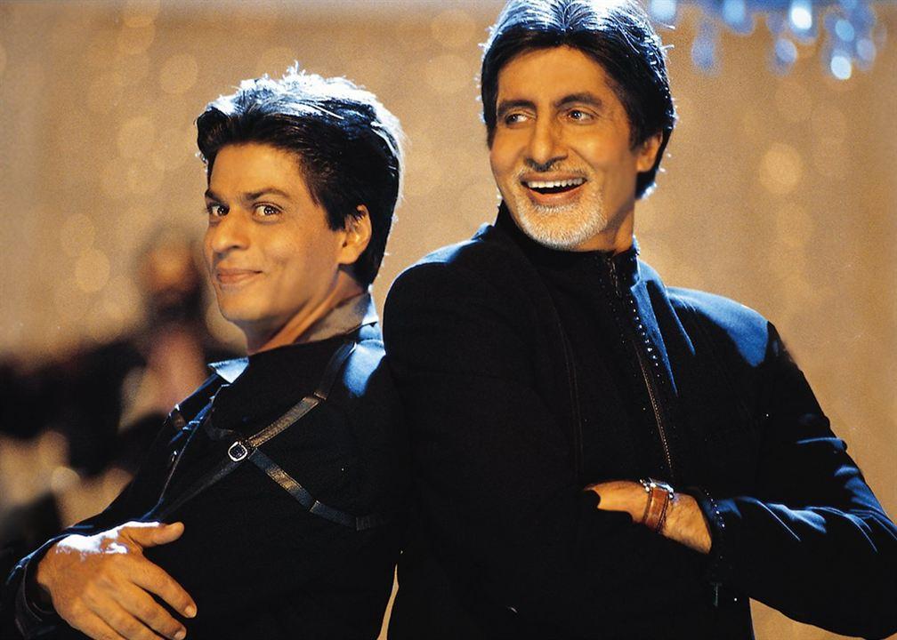 Kabhi Khushi Kabhie Gham... : Foto Amitabh Bachchan, Shah Rukh Khan