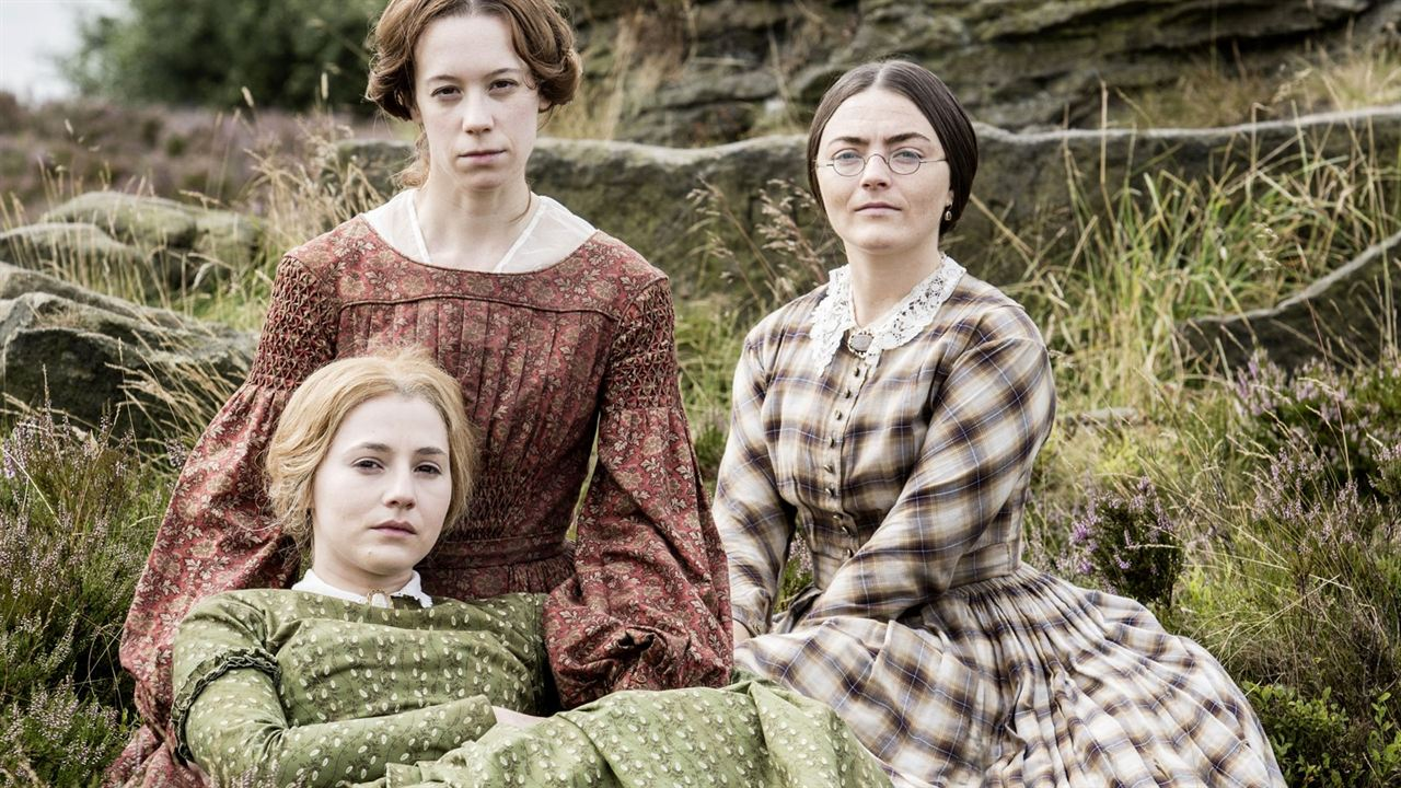 As Irmãs Brontë : Foto Charlie Murphy (II), Chloe Pirrie, Finn Atkins
