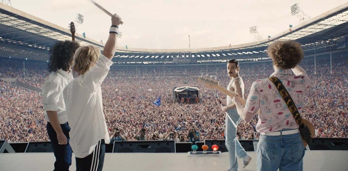 Bohemian Rhapsody : Foto Ben Hardy, Gwilym Lee, Joseph Mazzello, Rami Malek