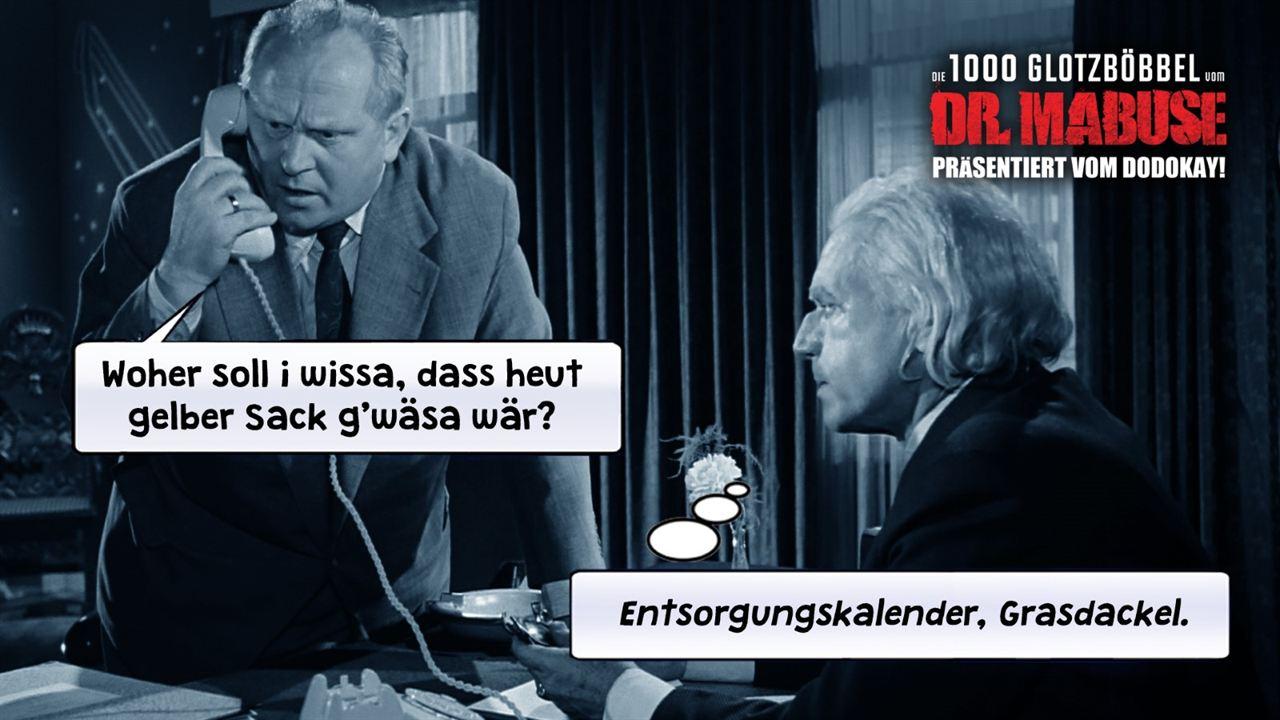 Die 1000 Glotzböbbel vom Dr. Mabuse : Foto Gert Fröbe, Wolfgang Preiss