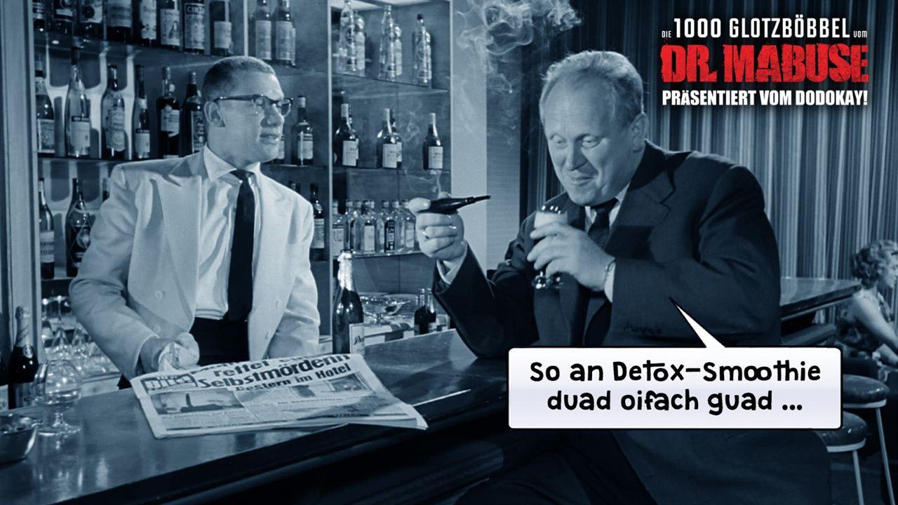 Die 1000 Glotzböbbel vom Dr. Mabuse : Photo Gert Fröbe, Wolfgang Völz