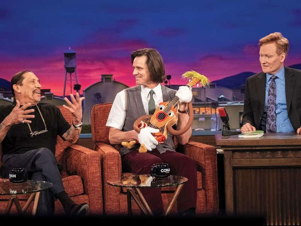 Foto Conan O'Brien, Danny Trejo, Jim Carrey