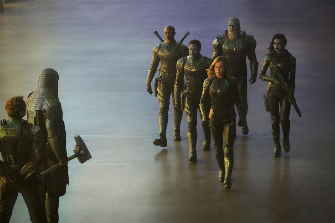 Capitã Marvel : Foto Algenis Perez Soto, Brie Larson, Djimon Hounsou, Gemma Chan
