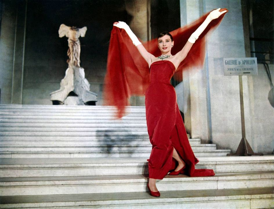 Cinderela em Paris: Audrey Hepburn