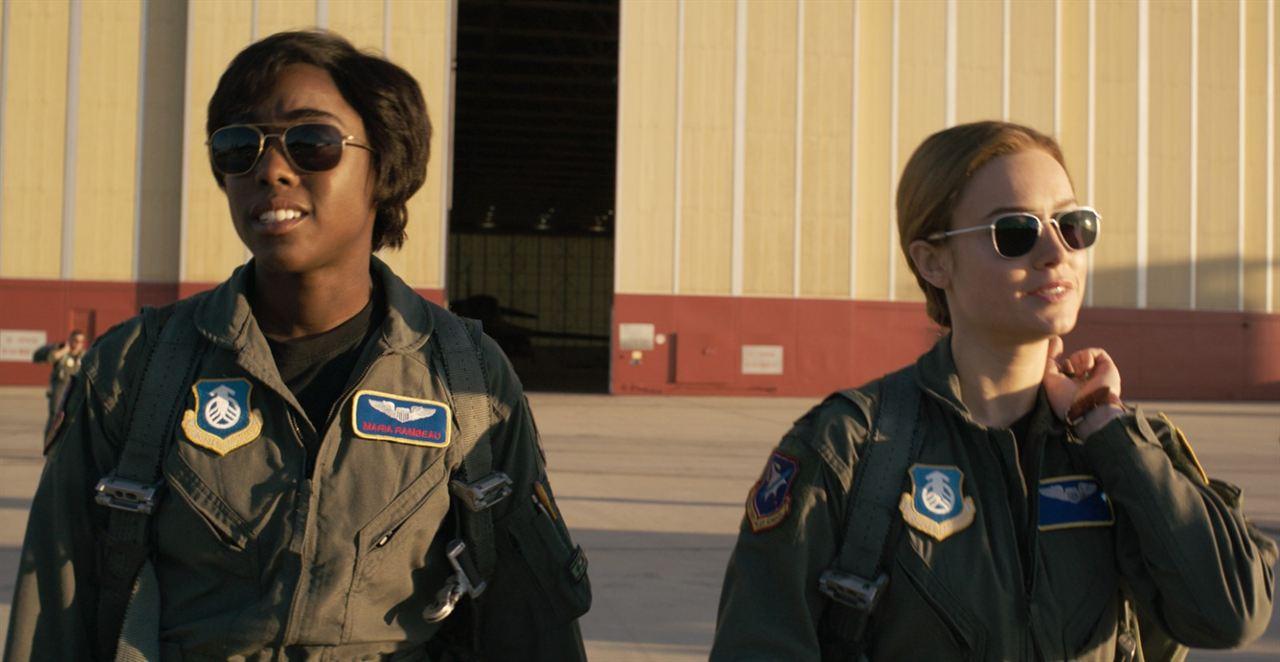 Capitã Marvel : Foto Brie Larson, Lashana Lynch