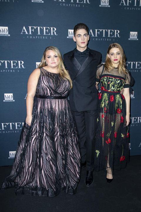 After : Vignette (magazine) Anna Todd, Hero Fiennes Tiffin, Josephine Langford
