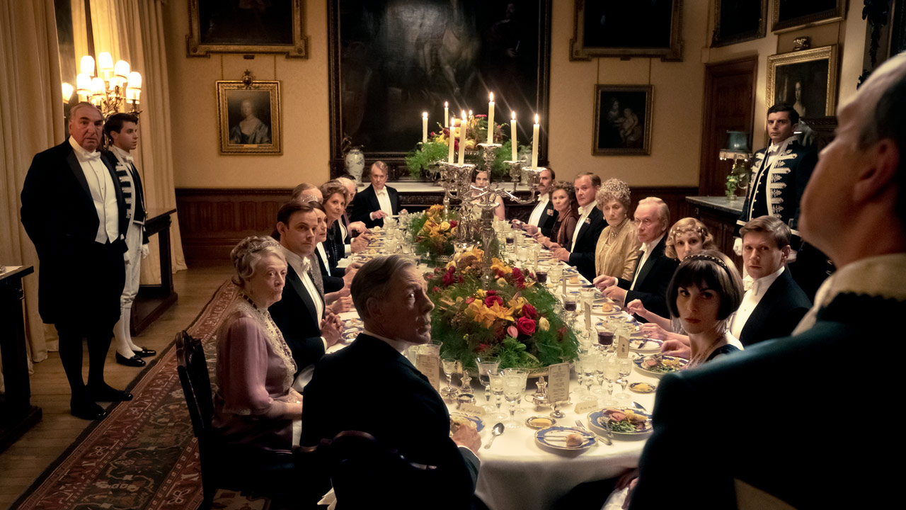 Downton Abbey - O Filme : Foto Hugh Bonneville, Imelda Staunton, Jim Carter, Kate Phillips, Laura Carmichael