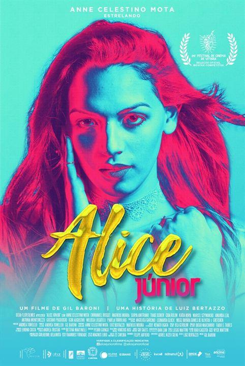 Poster promocional do filme Alice Júnior. (Foto: Divulgação)