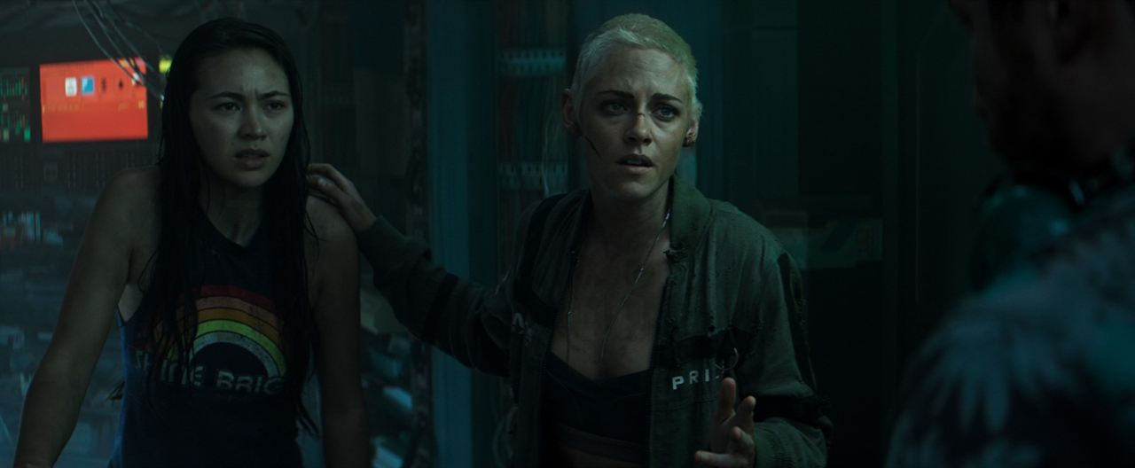 Ameaça Profunda: Jessica Henwick, Kristen Stewart