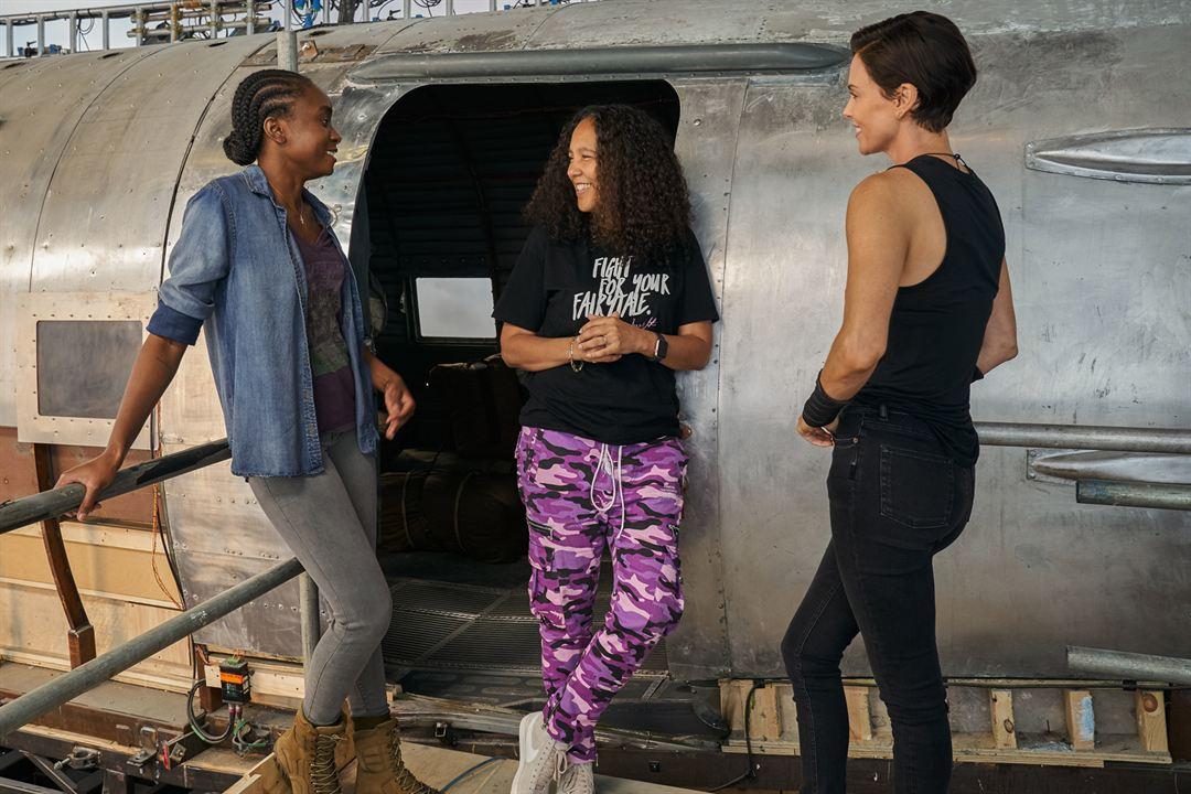 The Old Guard : Foto Charlize Theron, Gina Prince-Bythewood, KiKi Layne