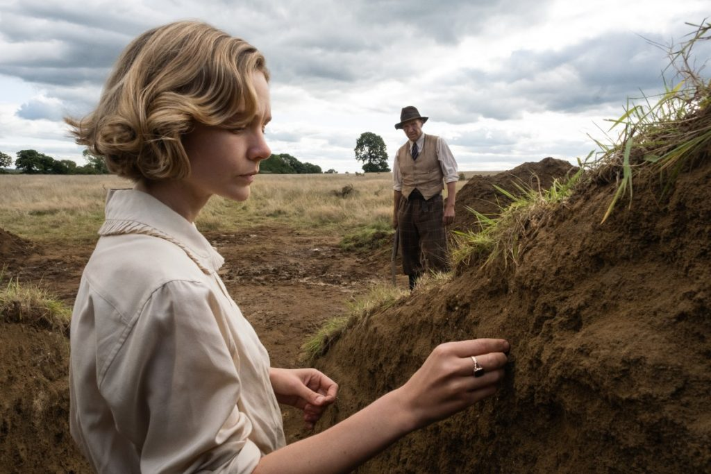 A Escavação : Foto Carey Mulligan, Ralph Fiennes