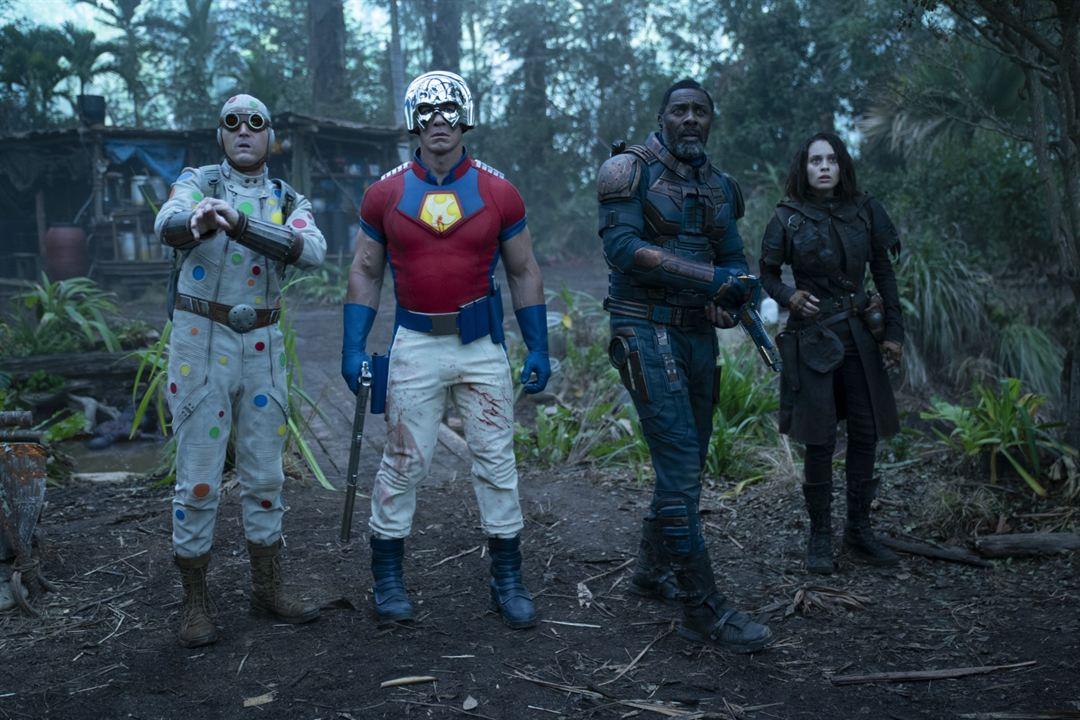 O Esquadrão Suicida : Foto Daniela Melchior, David Dastmalchian, Idris Elba, John Cena