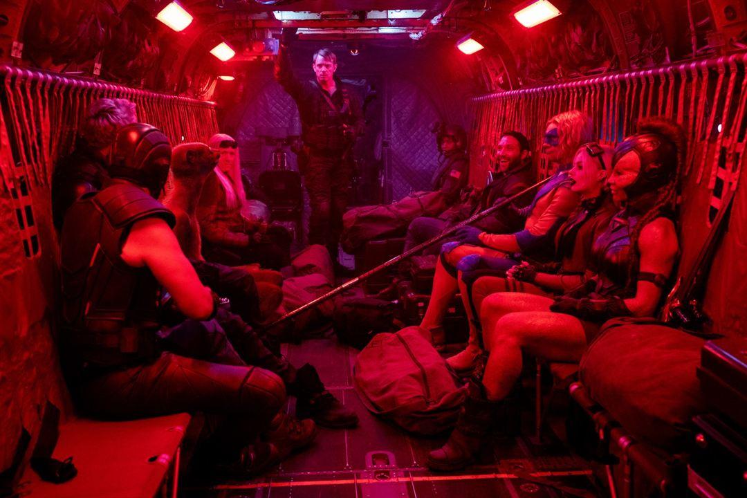 O Esquadrão Suicida : Foto Flula Borg, Jai Courtney, Joel Kinnaman, Margot Robbie, Michael Rooker