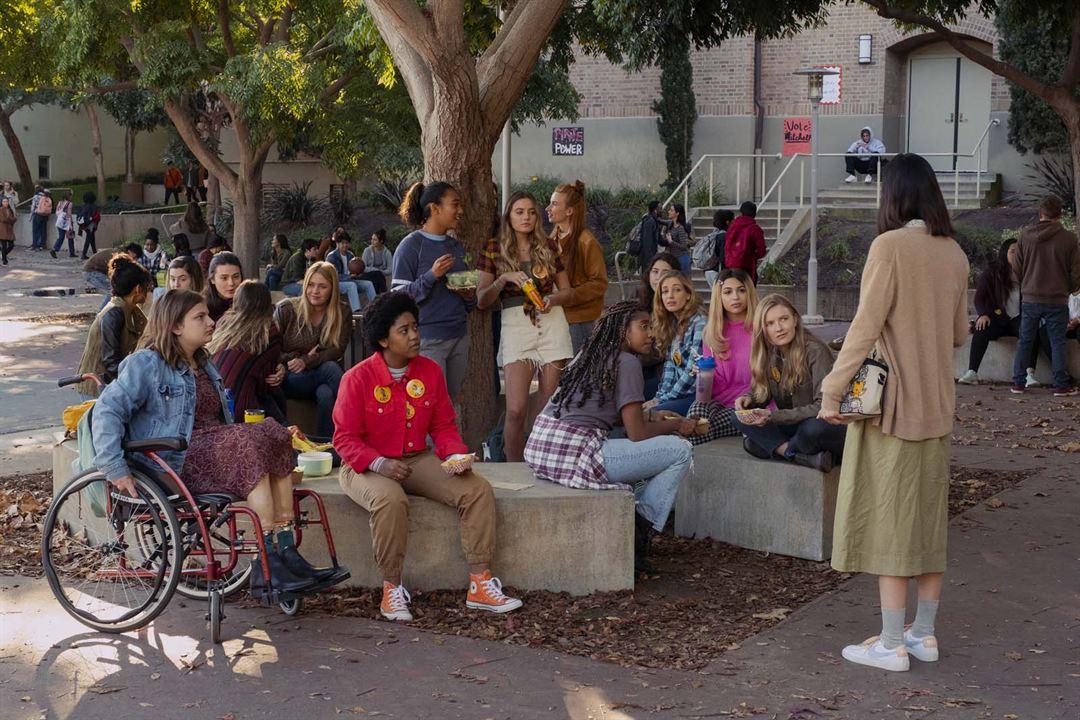 Moxie: Quando as Garotas Vão à Luta : Foto Alycia Pascual-Pena, Anjelika Washington, Hadley Robinson, Lauren Tsai, Sydney Park