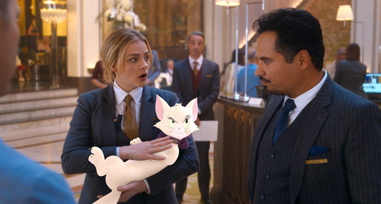 Tom & Jerry: O Filme: Chloë Grace Moretz, Michael Peña