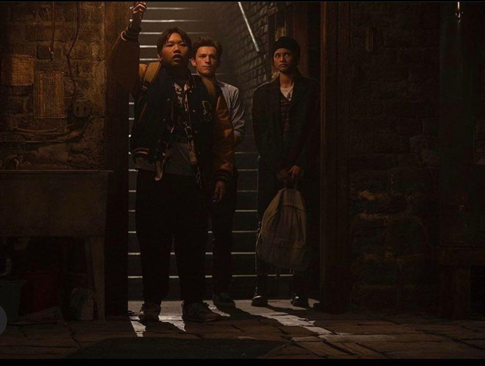 Homem-Aranha: Sem Volta para Casa: Jacob Batalon,  Zendaya, Tom Holland