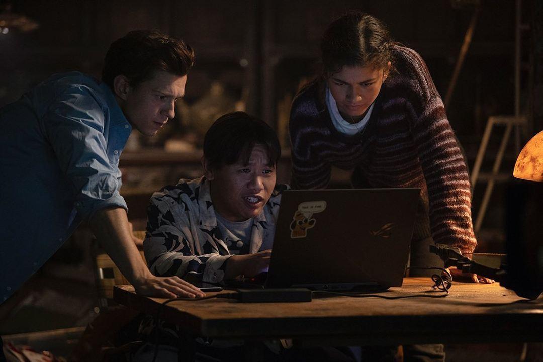 Homem-Aranha: Sem Volta para Casa:  Zendaya, Tom Holland, Jacob Batalon