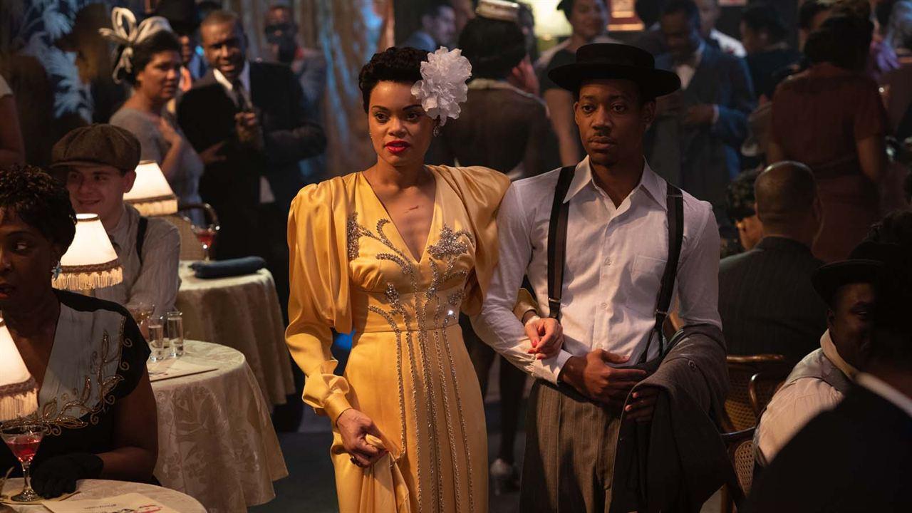 Estados Unidos Vs Billie Holiday : Foto Andra Day, Tyler James Williams