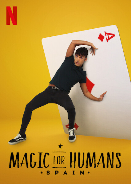 Mágica para a Humanidade: Espanha : Poster