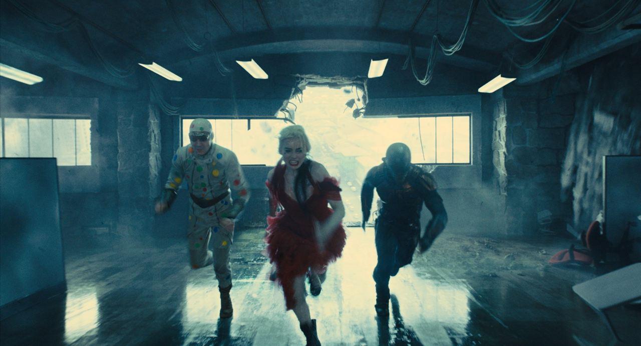 O Esquadrão Suicida : Foto David Dastmalchian, Idris Elba, Margot Robbie