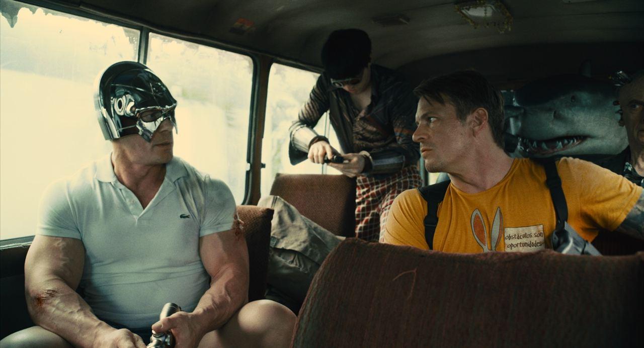 O Esquadrão Suicida : Foto David Dastmalchian, Joel Kinnaman, John Cena, Peter Capaldi