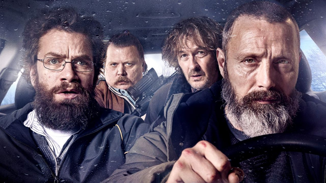 Riders of Justice : Foto Lars Brygmann, Mads Mikkelsen, Nicolas Bro, Nikolaj Lie Kaas