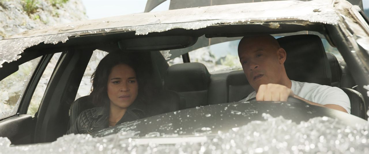 Velozes & Furiosos 9: Vin Diesel, Michelle Rodriguez