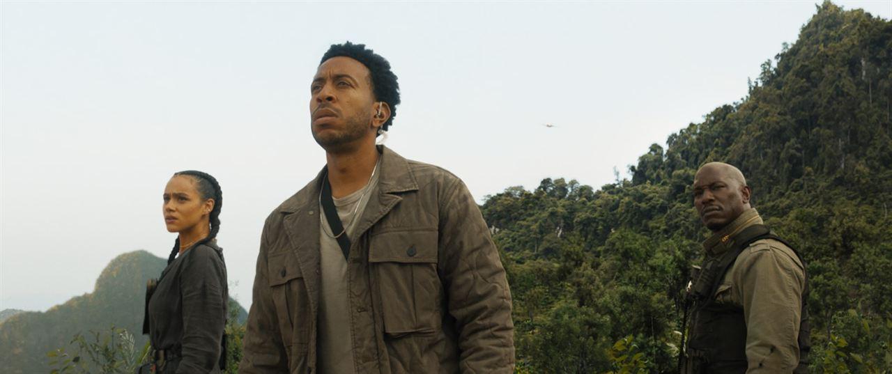 Velozes & Furiosos 9 : Foto Ludacris, Nathalie Emmanuel, Tyrese Gibson