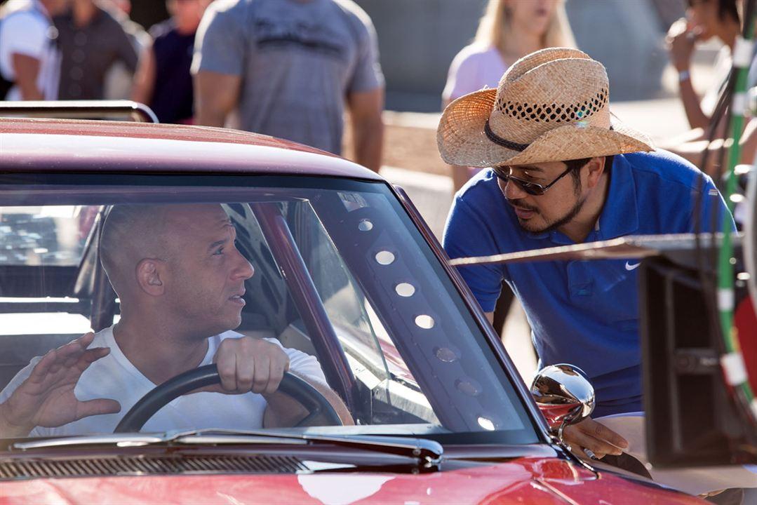 Velozes & Furiosos 6: Justin Lin, Vin Diesel