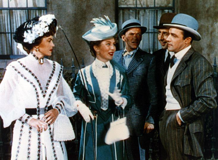 A Bela Ditadora : Foto Esther Williams, Frank Sinatra, Gene Kelly