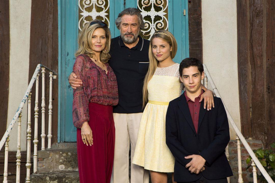 A Família : Foto Dianna Agron, John D'Leo, Michelle Pfeiffer, Robert De Niro