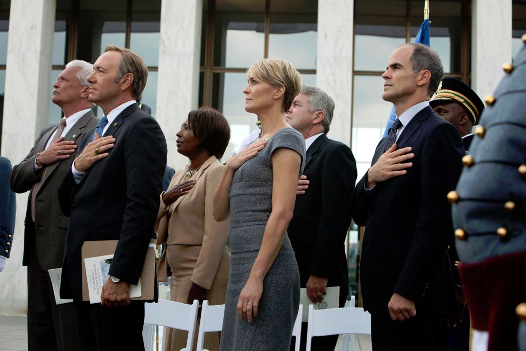 Foto Kevin Spacey, Michael Kelly, Robin Wright