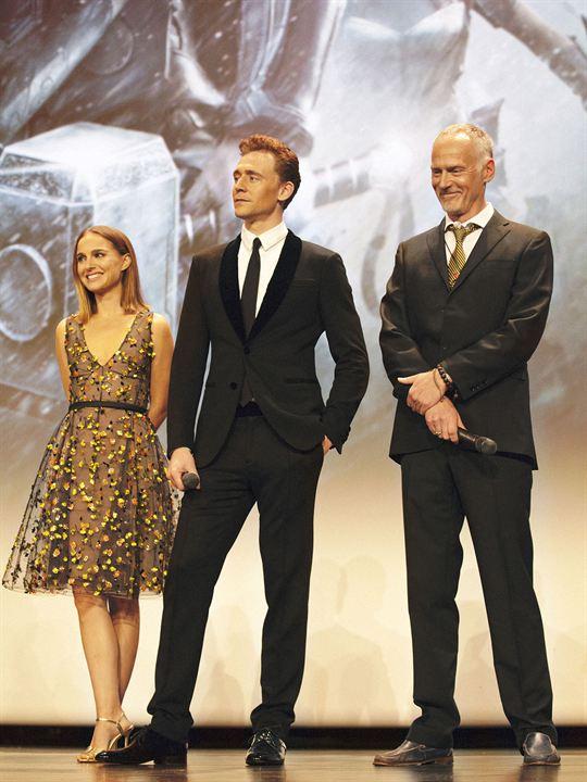 Thor: O Mundo Sombrio : Vignette (magazine) Alan Taylor, Natalie Portman, Tom Hiddleston