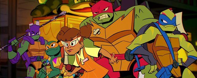 As Tartarugas Ninja Serie Animada E Renovada Para 2ª Temporada