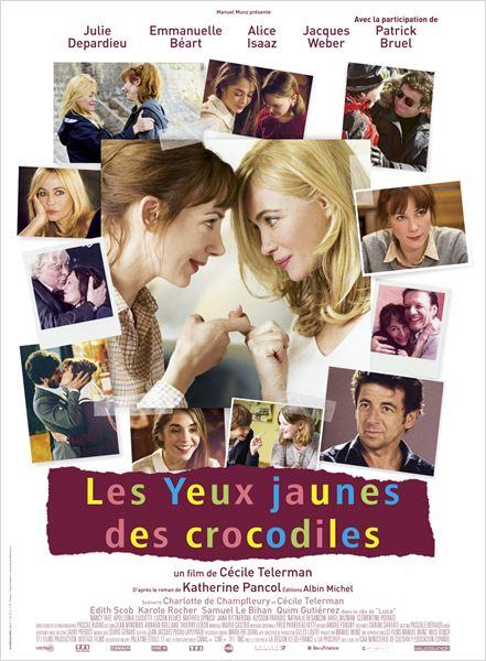 Os Olhos Amarelos dos Crocodilos : Poster