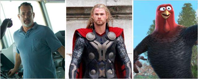 Bilheterias Brasil: Capitão Phillips e Bons de Bico não incomodam Thor: O Mundo Sombrio